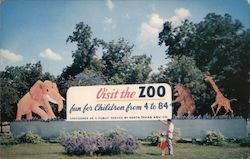 Forest Park Municipal Zoo, Entrance Sign