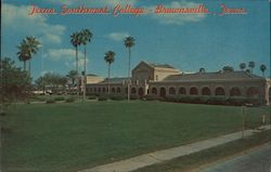 The Administration Building at Texas Southmost College Postcard