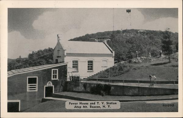 Power House and T.V. Station, Mt. Beacon Fishkill New York