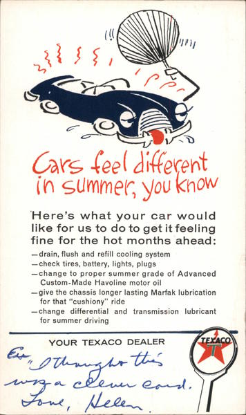 Don't Let Summer Get Your Car Down Advertising