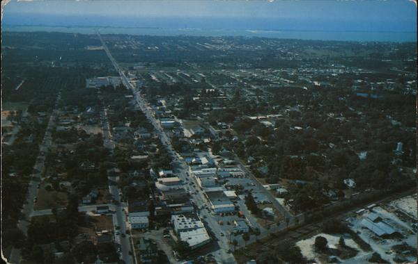 Air View of Largo, Florida