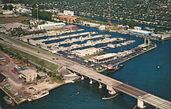 Aerial View of Fort Lauderdale Florida