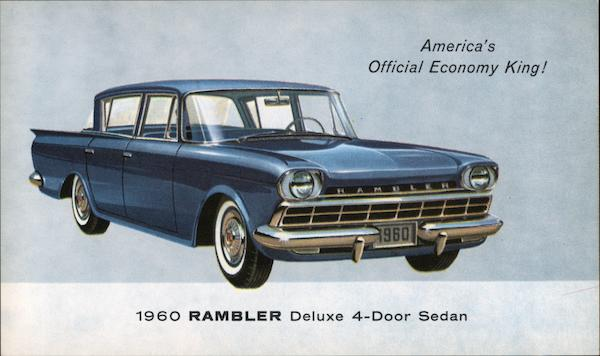 1960 Rambler Deluxe 4-Door Sedan Cars
