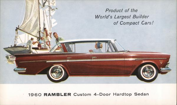 1960 Rambler Custom 4-Door Hardtop Sedan Cars