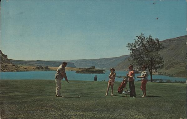 Golf Course-Sun Lakes State Park Grand Coulee Washington