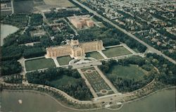 Aerial View of The Provencial Parliament Buildings