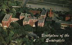 Air View of St. Luke's Hospital, Birthplace of the Quintuplets