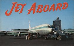 Jets at John F. Kennedy International Airport Postcard