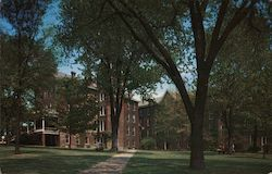 Founder's Hall at Juniata College Postcard