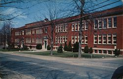 The Central School Postcard