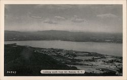 Looking South from Mt. Beacon, N.Y. Postcard