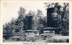 Deserted Lime Kilns Postcard