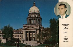 Governor Robert E. Smylie and The Idaho State Capitol
