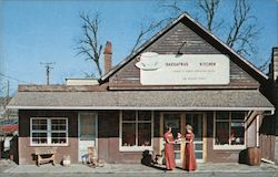 Sassafras Kitchen Restaurant Postcard
