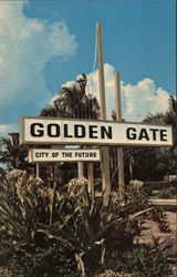 Golden Gate, Collier County's City of the Future Postcard