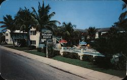 Holiday House Hotel and Coffee Shop Postcard