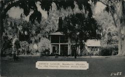 Stowe Lodge, Mandarin, Florida -- The Old Harriet Beecher Stowe Place Postcard