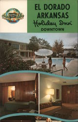 El Dorado Arkansas Holiday Inn Downtown Postcard