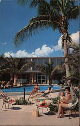 Suntide Apartments Postcard