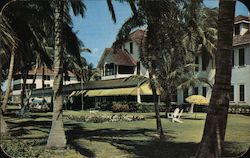 Naples Beach Hotel Postcard