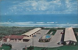 Ocean Shore Motel Postcard