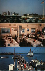 Captain Starn's Restaurant and Boating Center Postcard