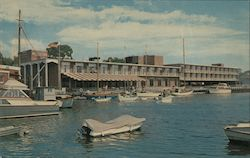 Greenwich Harbor Motor Inn Postcard