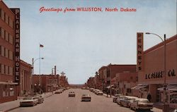 Greetings from Williston, North Dakota