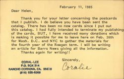 Coral-Lee Post Card Publisher