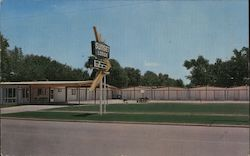 Sunset Lodge Motel Postcard