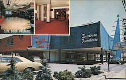 Dearborn Towne House Motel Postcard