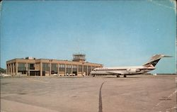 Terminal Building Burlington International Airport Postcard