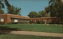 Vincennes University Administration Building Postcard
