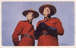 Canadian Mounties, American Airlines