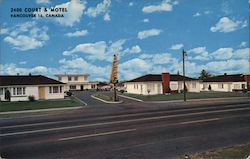 2400 Court & Motel Postcard