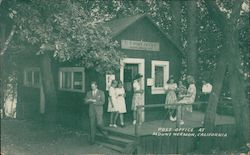 Mail Time at Mount Hermon California Postcard