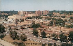 Kansas City's Country Club Plaza Postcard