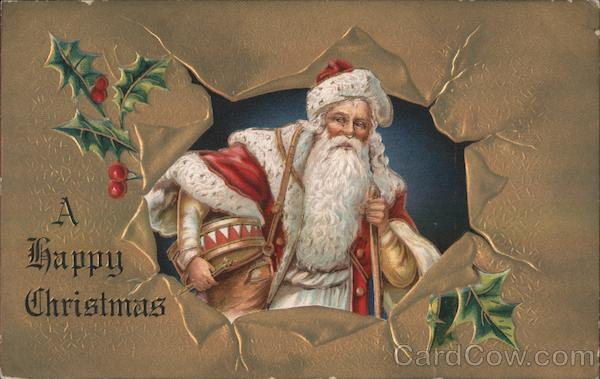 A Happy Christmas Santa Claus