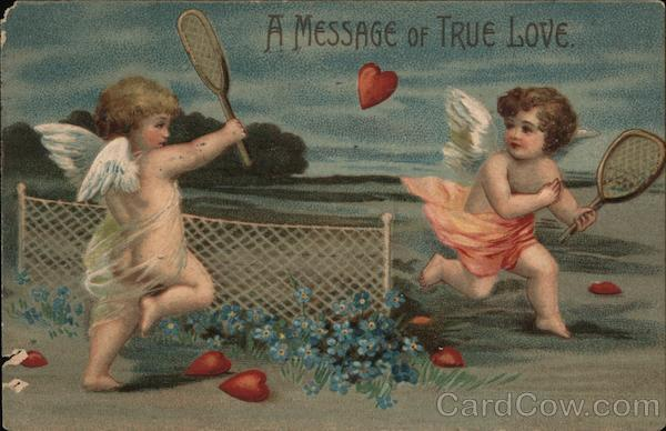 A Message of True Love Cupid