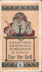Christmas Shopping Simplified by Telephone, Use the Bell