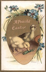 A Peaceful Easter Postcard