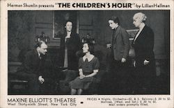 "Herman Shumlin Presents ""The Children's Hour"" by Lillian Hellman"