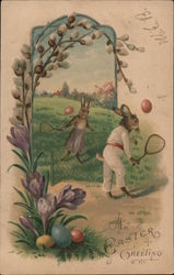 Bunny's Playing Tennis: An Easter Greeing