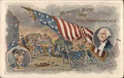 THE BATTLE OF TRENTON DEC. 25, 1776 - MEMORIES OF THE WAR FOR INDEPENDENCE