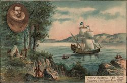 Henry Hudson's Half Mount, Discovery of The Hudson River