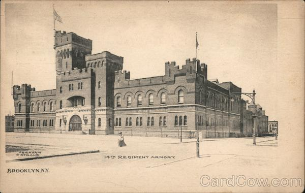 14th Regiment Armory Brooklyn New York