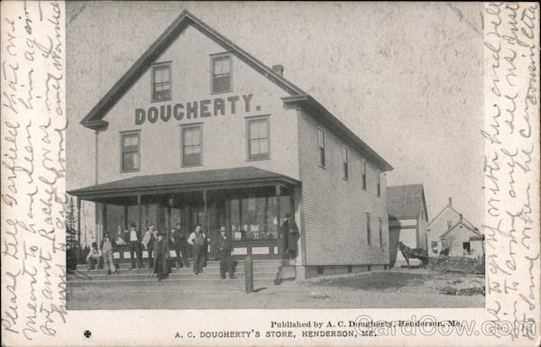 A. C. Dougherty's Store, Henderson Greenville Maine