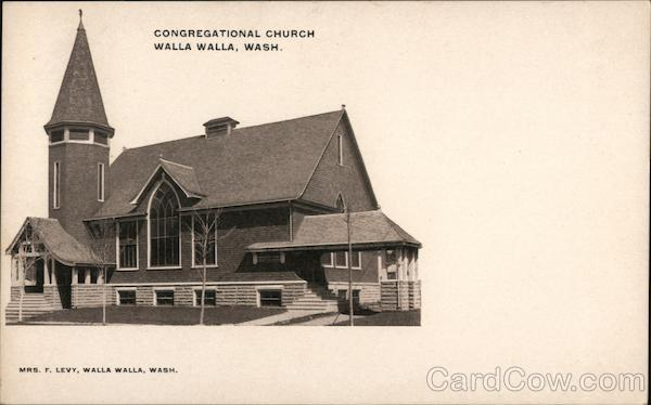Congregational Church Walla Walla Washington