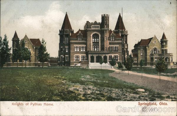 Knights of Pythias Home Springfield Missouri
