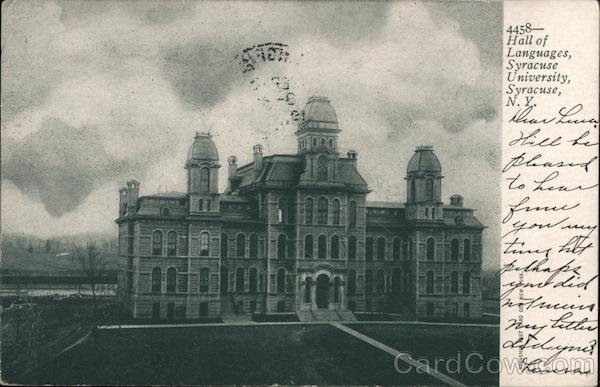 Hall of Languages, Syracuse University New York